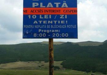 Parcarea PRIVATA din Piatra Arsa
