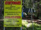 În plin sezon turistic, DJ 713A, drumul spre Bolboci – Padina – Peştera a fost închis – UPDATE: redeschis